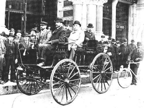 Morrison electric car 1890